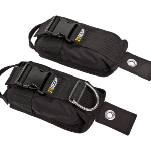 XDEEP Bleitaschen-Set Backmount M
