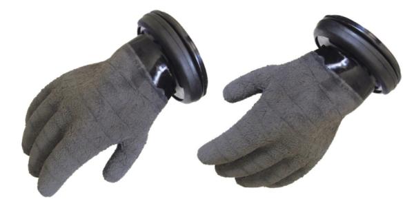 Checkup Black Handschuh Set