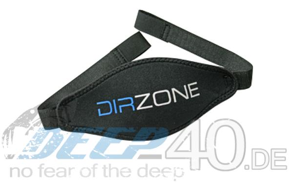 DIR ZONE Maskenband Neopren mit Klettverschluss