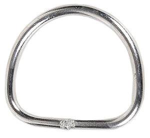 DIR ZONE D-Ring Edelstahl 5 cm