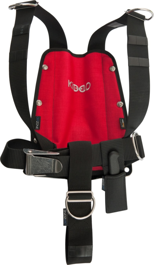 DIR ZONE KIDDO Backplate mit DIR-Harness