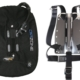 DIR ZONE Ring Monowing Set Stahl Backplate DIR Harness