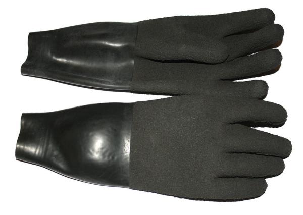 Trockentauchhandschuhe mit Manschette