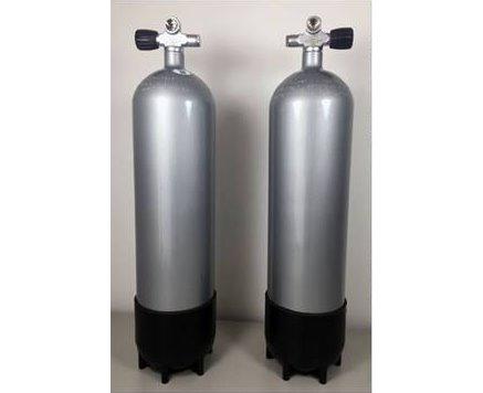 Faber 12 Liter Stahlflaschen Sidemount