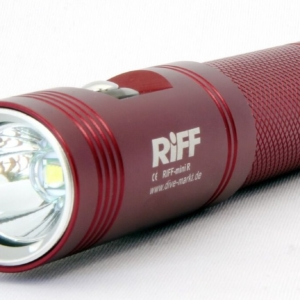 RiFF Lampe TL Mini rot