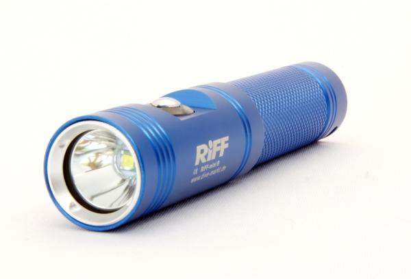RiFF Lampe TL Mini Blau