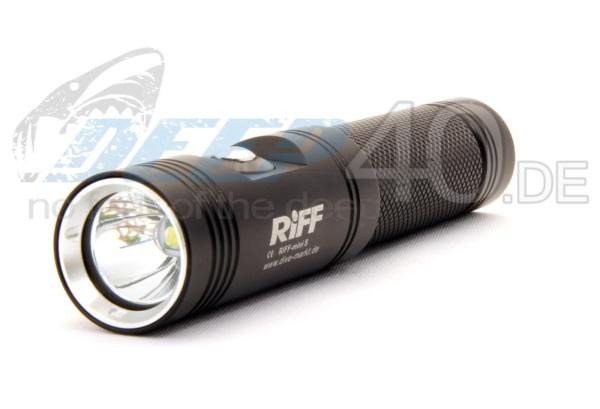 RiFF Lampe TL Mini schwarz