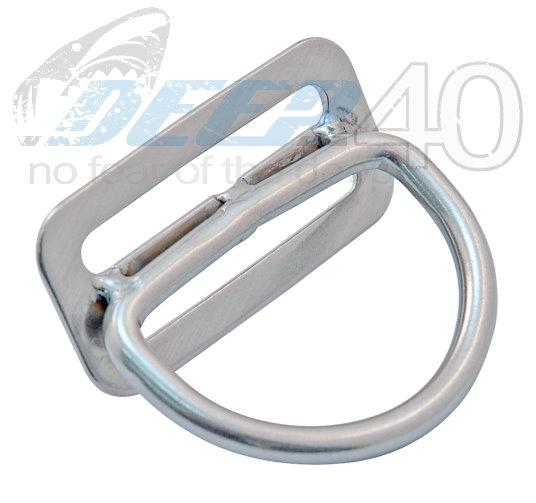 XS Scuba 45° D-Ring feststehend