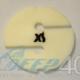 XS Scuba Cookie fluoreszierend