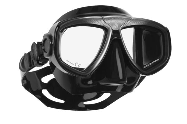 Scubapro Maske Zoom Evo Schwarz/Silber