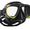 Scubapro Maske Zoom Evo Schwarz/Gelb