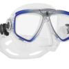 Scubapro Zoom Evo Clear/Blau/Silber