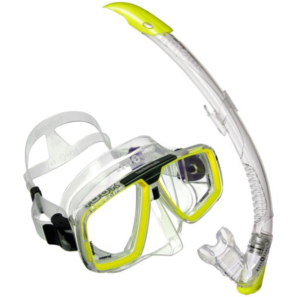 Aqua Lung Maskenset Look Zephyr Gelb