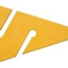 DIR ZONE Leinenpfeil 9 cm gelb