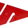 DIR ZONE Leinenpfeile 9 cm rot