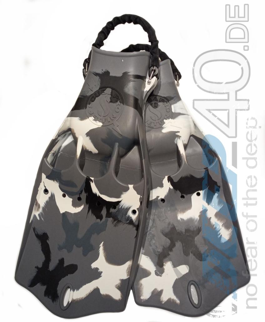 Scubapro Jetfins Grau Camouflage Sonderedition