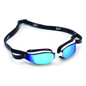Michael Phelps XCEED Titanium Mirror Blue-Black
