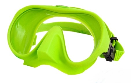 OMS Maske Tribe Lizard Green