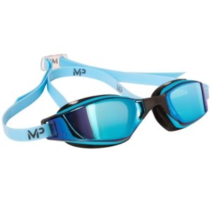 MP XCEED mirrored titanium blau