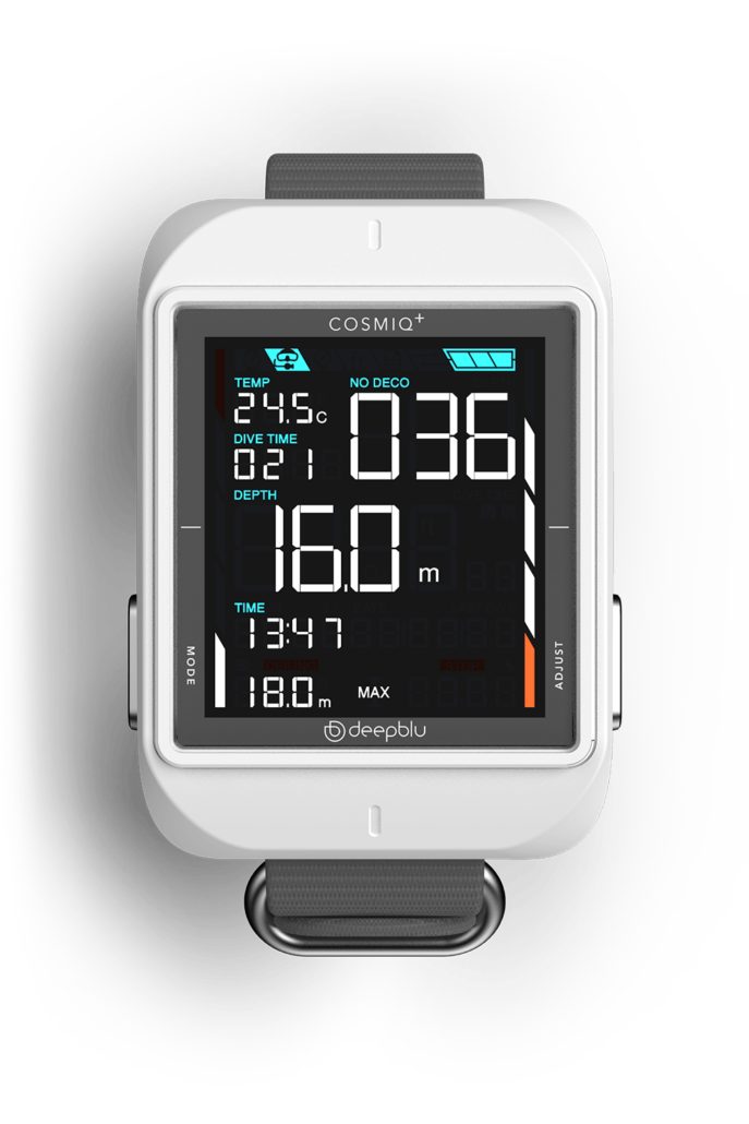 Cosmiq Plus Weiß mit Armband Grau