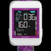 Cosmiq Plus Weiß mit Purple Camou Armband