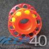Dive Pro Spool Neonorange Flachleine gelb