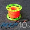 Dive Pro Spool Neongelb Flachleine Orange