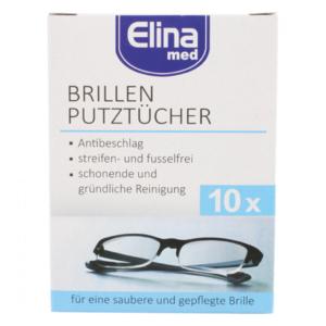 Brillenputztücher feucht 10er