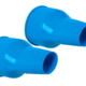SI TECH Silikonmanschetten Arm Blau