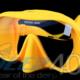 Dive Pro Maske Spirit gelb