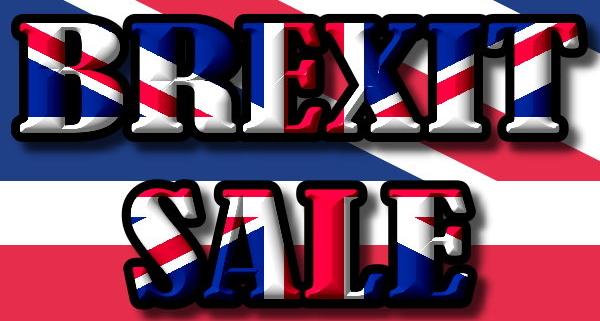 Kategorie Brexit Sale
