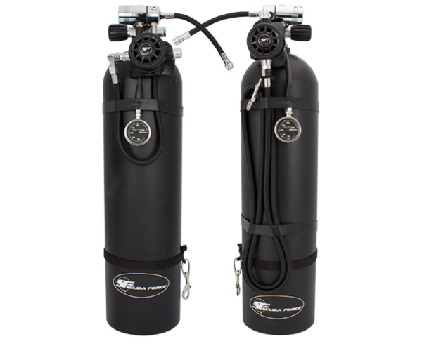 Scubaforce Black Diamond Sidemount Set Flex