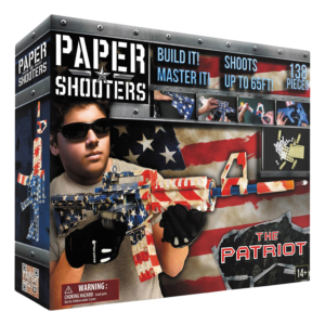 "Paper Shooters ""The Patriot"""