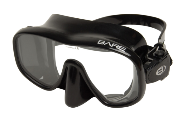 BARE Maske frameless Sport schwarz