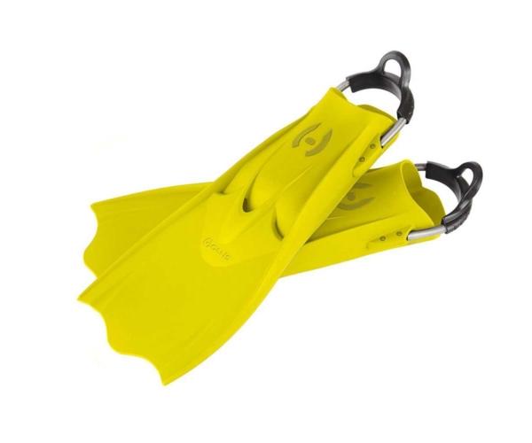 Hollis F1 LT Vollgummiflosse Gelb
